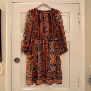 Anna Sui Paisley Dress